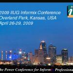 IIUG Insider (Issue #104) February 2009
