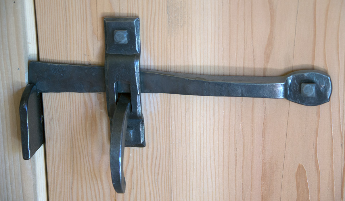 Norfolk Door Latch, courtesy of Morris L. Hallowell IV