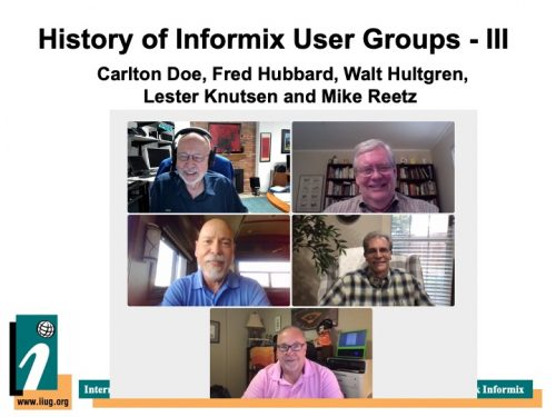 History of the Informix User Groups - Part 3